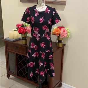 kate spade Dresses - Kate Spade Encore Rose Crepe Dress Sz 12 NWT
